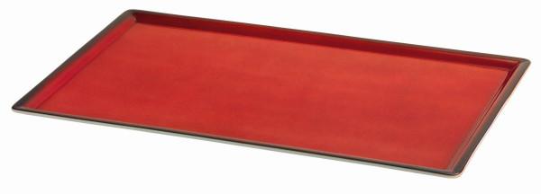 SPARE Platte/Schale 'GN' - rot Vollplatte 1/1 GN