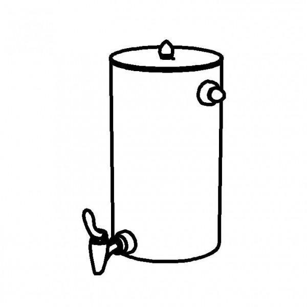 SPARE Nachschubbehälter Saftkanne 9 Liter, Modell Edelstahl