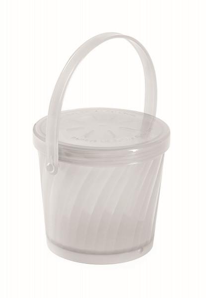 Eco-Takeout® Suppen Behälter durchsichtig - 473 ml, Ø11 x 9