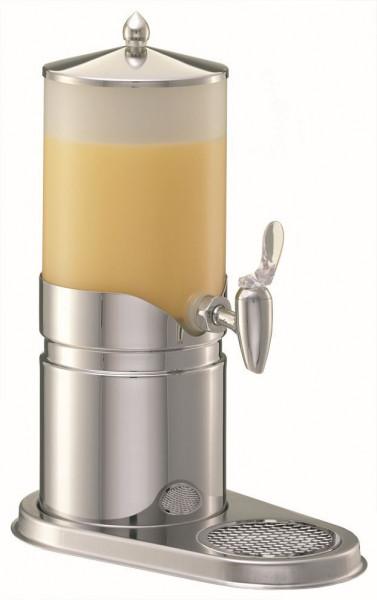 ELEGANCE Saftkanne 2,5 Liter, Edelstahl, Behälter (Opal-