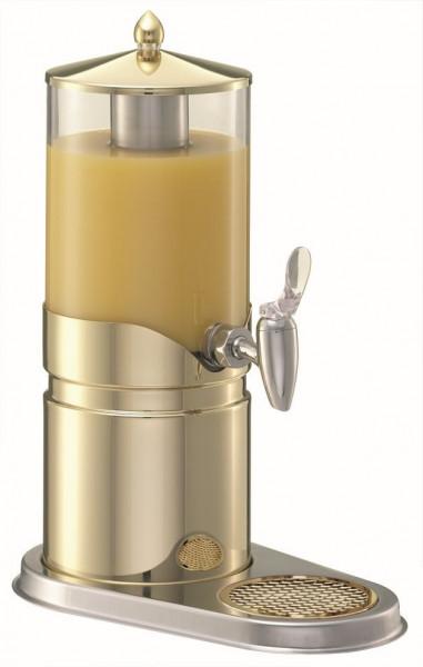 ELEGANCE Saftkanne 2,5 Liter, Modell Gold, Behälter (klar)