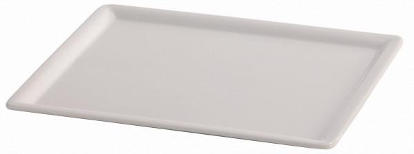 SPARE Platte/Schale 'GN' - weiß Teilplatte 1/2 GN