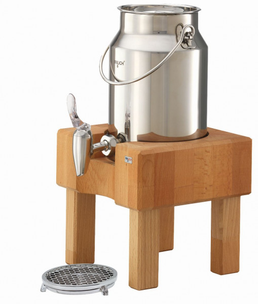 PURE NATURE Milchkanne 3 Liter, Buche (hell)