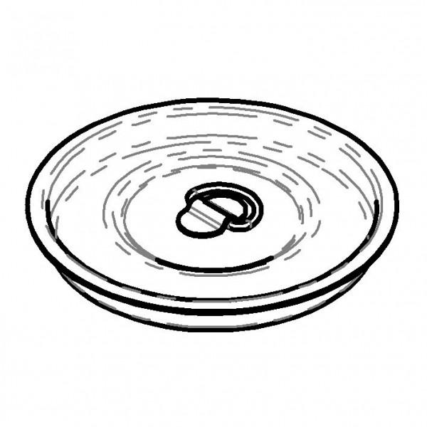 SPARE Deckel/Haube Edelstahldeckel für Milchkanne 5 Liter
