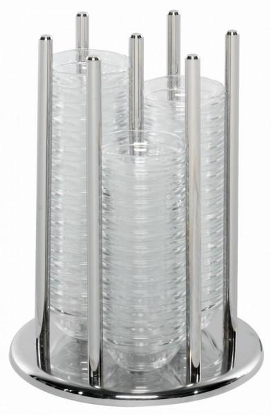 ELEGANCE Schälchenhalter 'Maxi' mit 60 Glasschälchen, Modell
