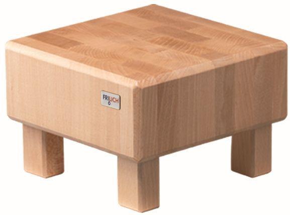 PURE NATURE Butcher Block 'S-Cube' Buche, massiv (Natur), H: