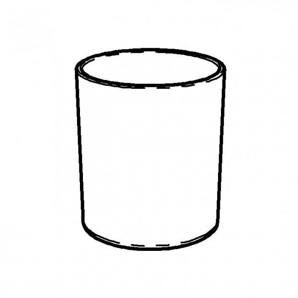 SPARE Platte/Schale Porzellanbecher 0,6 Liter
