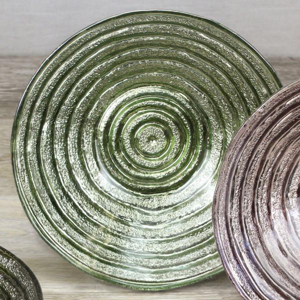 Dessert Glasschale, grün 500 ml - Ø 19,1 x 4,4 cm