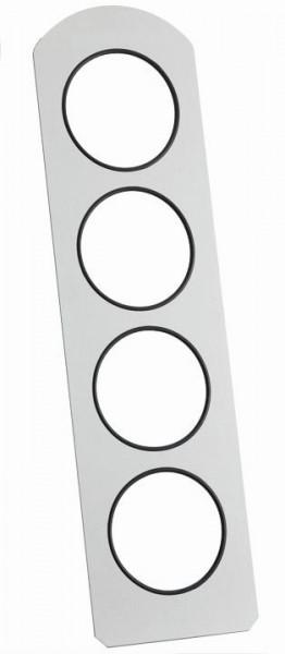 GASTRO Vario Rack Rückwand für 4 Displays