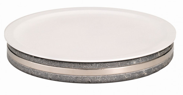 EARTH Frischeplatte `400` Porzellanplatte (Ø 410 mm)