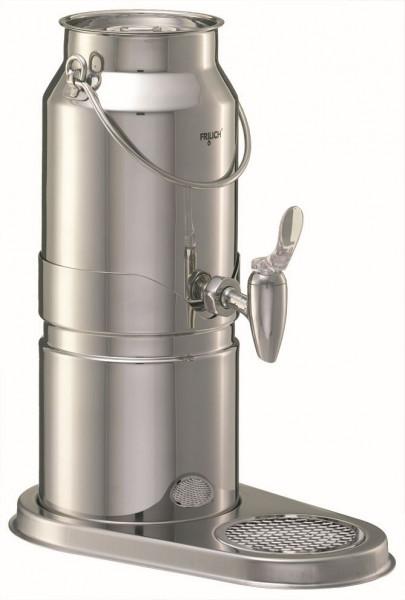 ELEGANCE Milchkanne 3 Liter, Modell Edelstahl