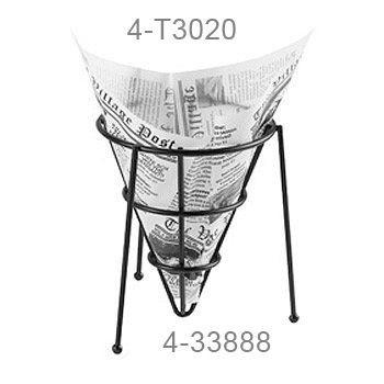 Zweiseitig offene Tüten /Einleger /Wrap weiß, Zeitung - 13,9