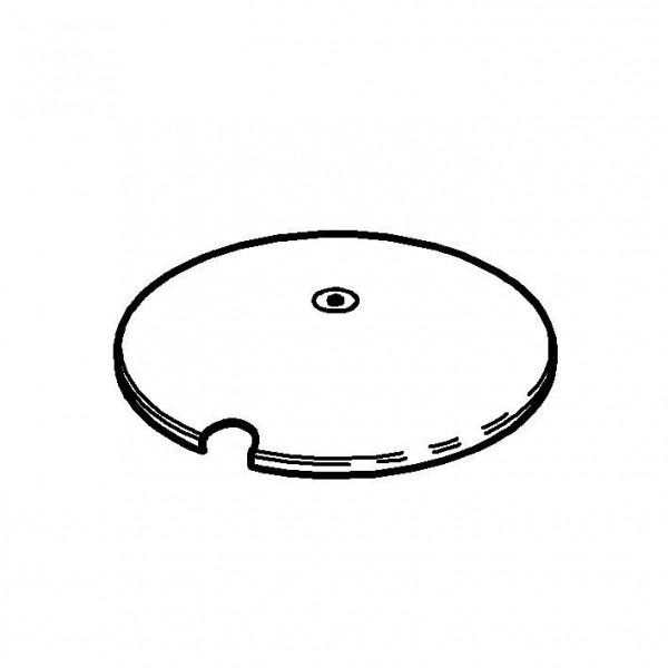 SPARE Deckel/Haube Deckel, vergoldet, für Frischeschale