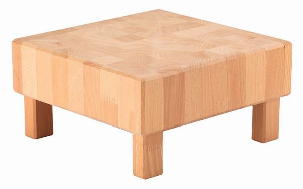 PURE NATURE Butcher Block 'L-Cube' (M) Buche, massiv (Natur)