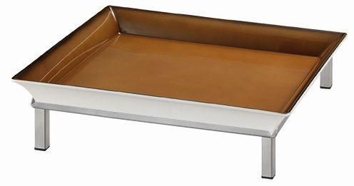 RAISER 'Frischeschale 33x33' caramel 3,5 l - S-Standfuß
