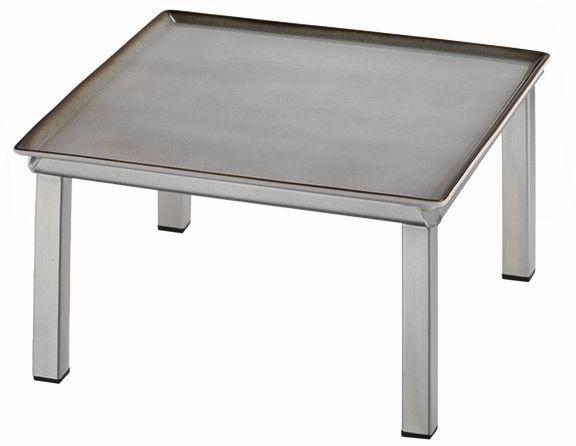 RAISER 'Frischeplatte 23x23' grau M-Standfuß 'Stainless
