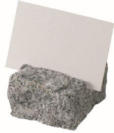 ACCESSOIRE Schild Aufstellschild aus Naturstein 'Granit'