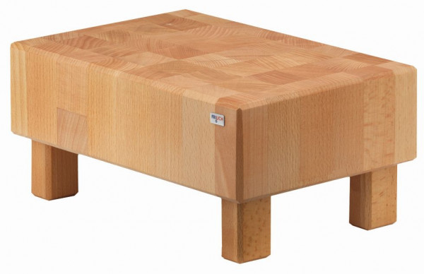 PURE NATURE Butcher Block 'Oblong' Buche, massiv (Natur)