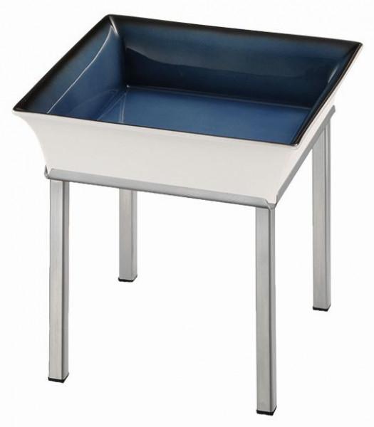 RAISER 'Frischeschale 23x23' blau 2,5 l - L-Standfuß