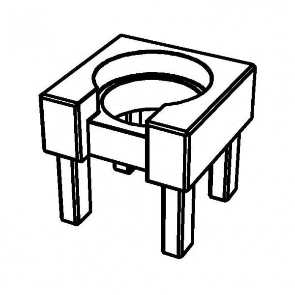 PURE NATURE Holzstandfuß für Milchkanne für 3 Liter, Buche