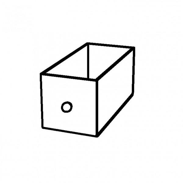 SPARE Schubfach aus Acryl m. Edelstahlgr., f. Box Bread