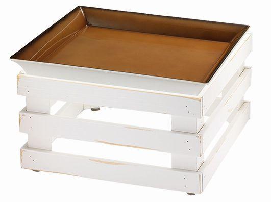 RAISER 'Frischeschale 33x33' - caramel 3,5 l - L-Standfuß