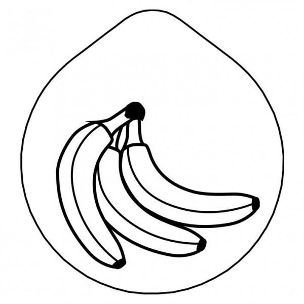 ACCESSOIRE Laserung 'Banane' Edelstahldeckel für Karaffe