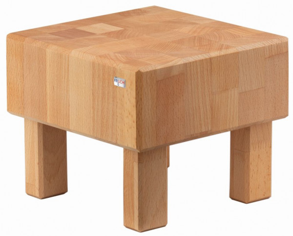 PURE NATURE Butcher Block `S-Cube` Buche, massiv (Natur), H: