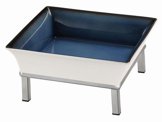 RAISER 'Frischeschale 23x23' blau 2,5 l - S-Standfuß