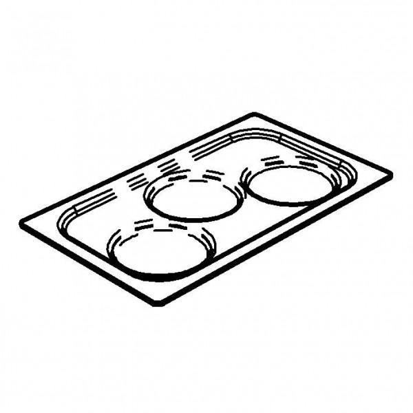 SPARE Behälter Eisbehälter für Frischeplatte (GN)