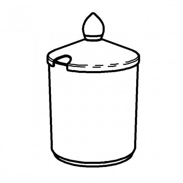 SPARE Nachschubbehälter für Konfitürenbar, Mod. Gold