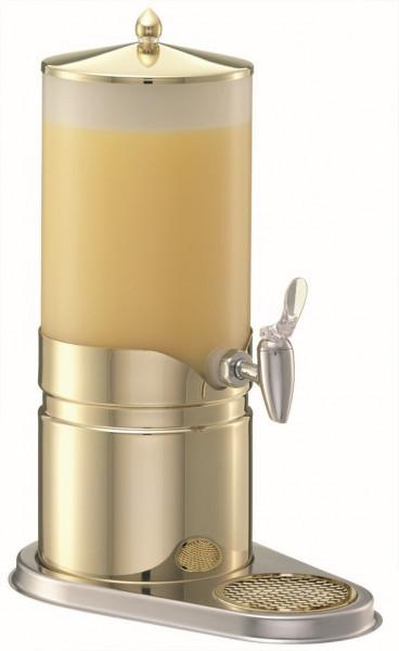 ELEGANCE Saftkanne 5 Liter, Gold, Behälter (Opal-