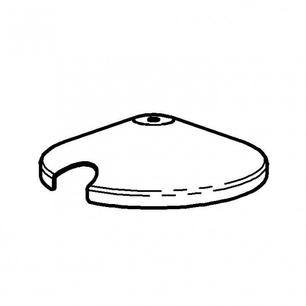 SPARE Deckel/Haube Edelstahldeckel für Konfitürenbar