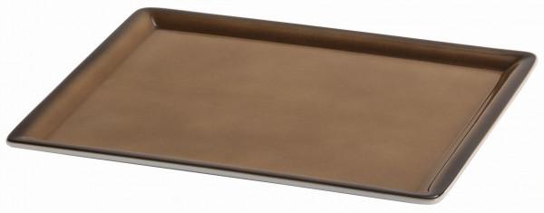 SPARE Platte/Schale 'GN' - caramel Teilplatte 1/2 GN