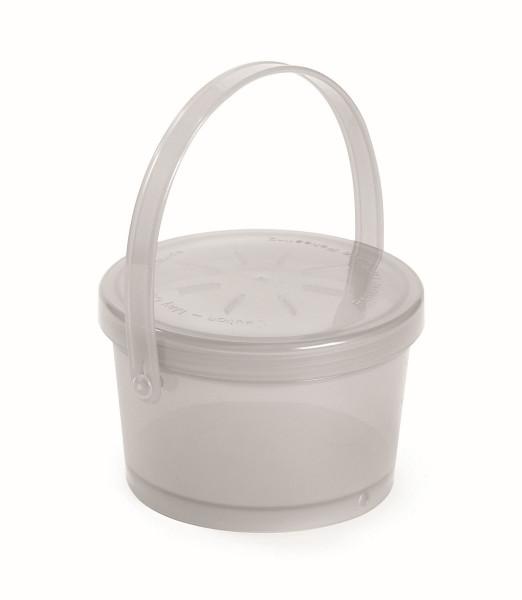 Eco-Takeout® Suppen Behälter durchsichtig - 350 ml, Ø11 x 7