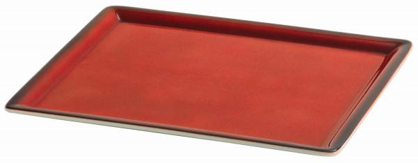 SPARE Platte/Schale 'GN' - rot Teilplatte 1/2 GN