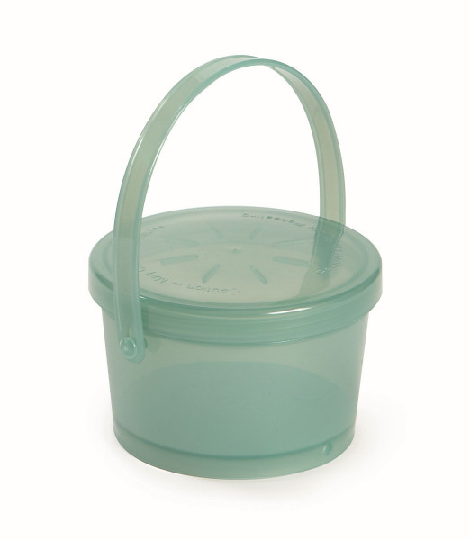 Eco-Takeout® Suppen Behälter grün - 350 ml - Ø11 x 7 cm