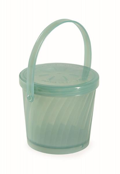 Eco-Takeout® Suppen Behälter grün - 473 ml, Ø11 x 9,5 cm