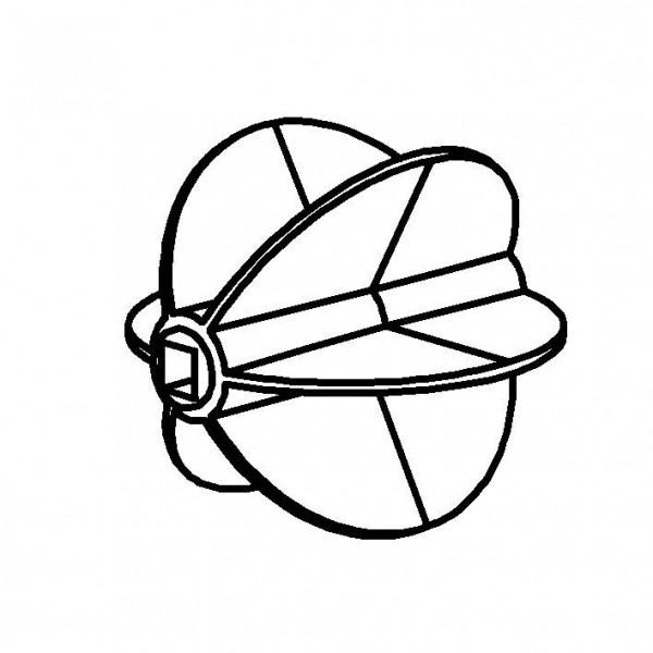 SPARE Müslibar 'Hopper' Paddel aus Silikon für Müslibar