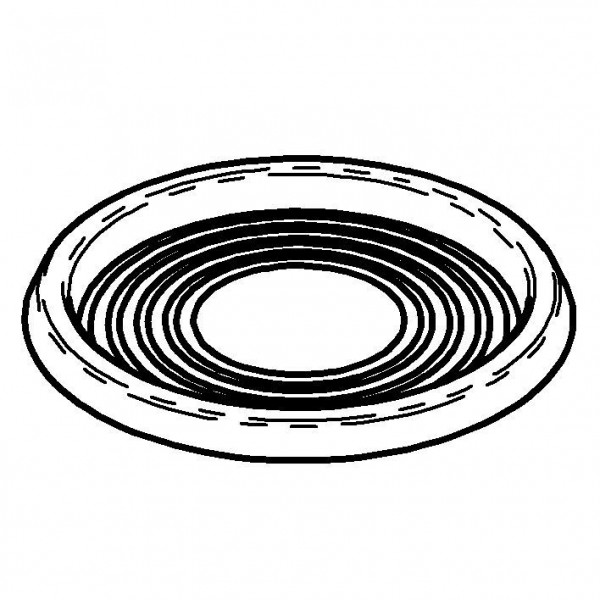 SPARE Platte/Schale Tropfschälchen aus Edelstahl
