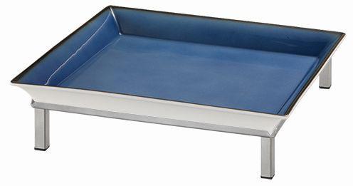 RAISER 'Frischeschale 33x33' blau 3,5 l - S-Standfuß