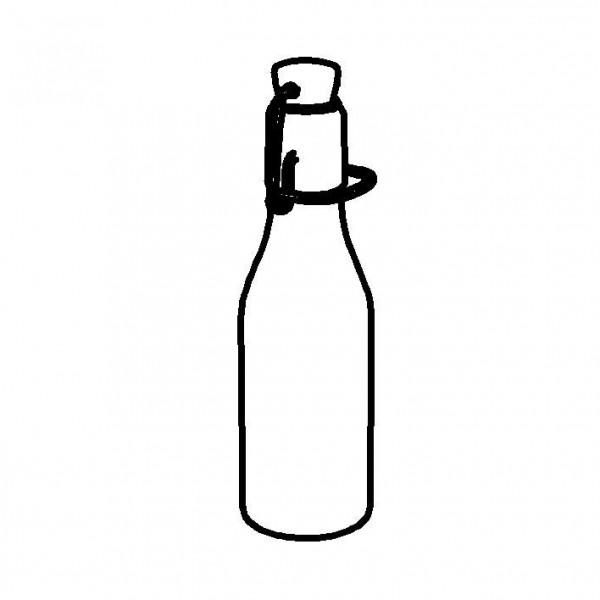 SPARE Behälter Bügelflasche für Portionsflaschendisplay